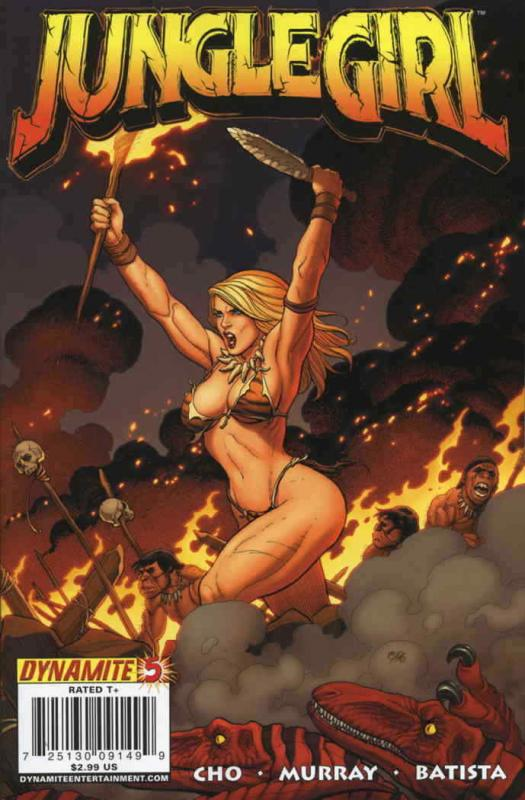 Jungle Girl (Dynamite) #5A VF; Dynamite | save on shipping - details inside
