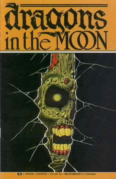 Dragons in the Moon #3 FN; Aircel   save on shipping - details inside