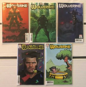 Wolverine #1 + Variants 5 Book Lot Dawn of X