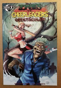 ZOMBIES VS CHEERLEADERS GEEKTACULAR #1 COVER B 2010 MOONSTONE