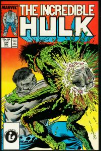 INCREDIBLE HULK #334-MCFARLANE VF/NM