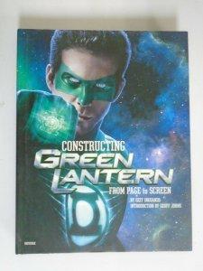 Constructing Green Lantern HC 8.0 VF price tag on cover (2011 Universe)