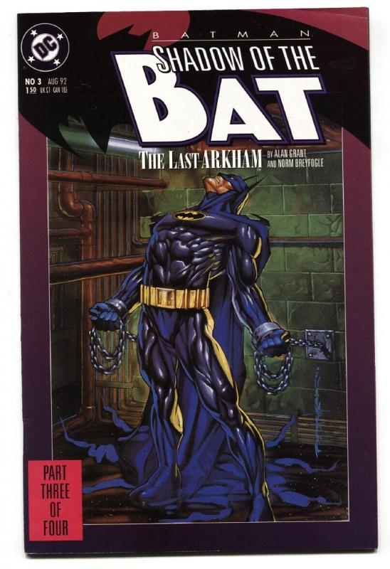 Batman Shadow Of The Bat 3 Comic Book 1st Appearance Amygdala