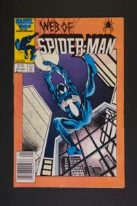 Web of Spider-Man #22 January 1987