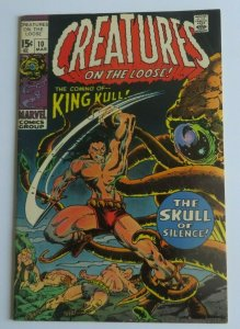 Creatures On The Loose #10 FN/VF 1st King Kull Marvel Bronze Age Comic 1971