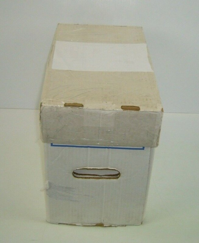 600 Backing Boards + Short Box + Lid - comic supplies backer lot packing protect