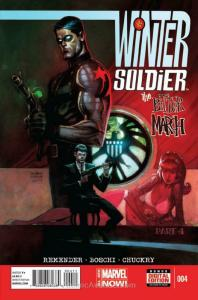Winter Soldier: The Bitter March #4 VF/NM; Marvel | save on shipping - details i