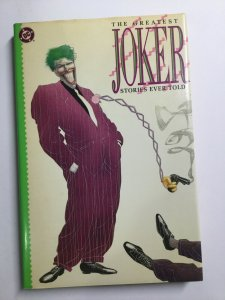 Greatest Joker Stories Ever Told Tpb Hardcover Hc Near Mint Dc Comics