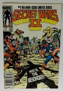 Secret Wars II #1 Marvel 1985 NM- VAMPIRE Horror and Sci-Fi Comic Book