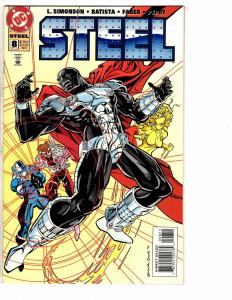 5 DC Comics Superman Animals Eradicator Direct Currents Armageddon Steel 1 J220