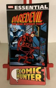 Essential Daredevil Volume 6 Paperback Marv Wolfman
