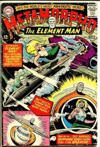 METAMORPHO #2-DC-MISSLE COVER-TAKE A LOOk! VG-