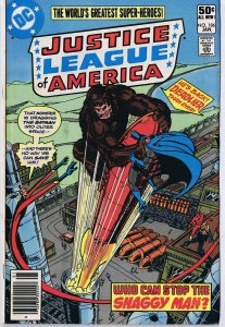 Justice League of America #186 ORIGINAL Vintage 1981 DC Comics