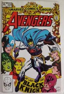 AVENGERS #225 Black Knight Appearance Marvel Comics ID#MBX2