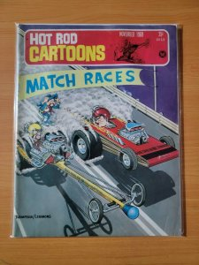 Hot Rod Cartoons Car Toons Magazine November 1969 ~ VERY GOOD VG ~