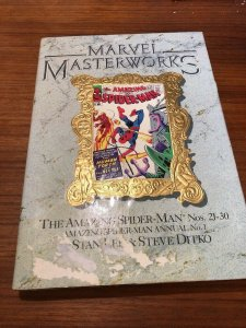 Marvel Masterworks 10 Amazing Spider-man 21-30 Some Marks On Dust Jacket