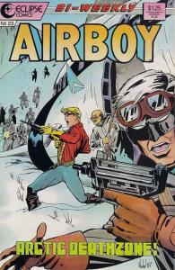 Airboy #23 VF/NM; Eclipse | save on shipping - details inside