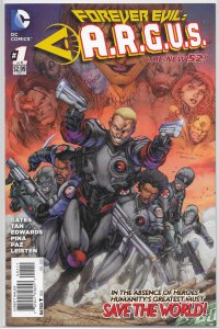Forever Evil  : A.R.G.U.S.   #1 of 6 VF/NM (New 52)