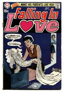 FALLING IN LOVE #116 1970-DC ROMANCE-WEDDING DRESS