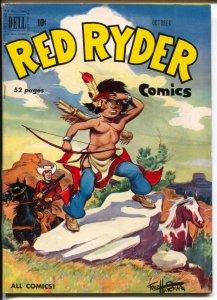 Red Ryder #87 1950-Dell-Fred Harman-Little Beaver-FN/VF