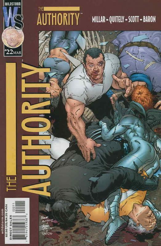 Authority, The #22 VF/NM; WildStorm | save on shipping - details inside