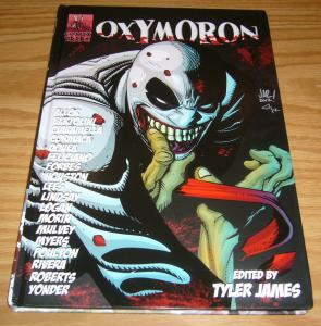 Oxymoron HC #1 VF/NM comix tribe - red ten SIGNED HARDCOVER 2012 super villain