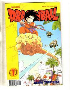 Lot Of 6 Dragonball VIZ Comic Books # 1 1 2 3 4 5 Vegita Goku Anime Manga CJ9