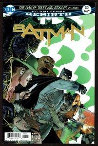 Batman #30 Rebirth (Nov 2017, DC) 0 9.2 NM-