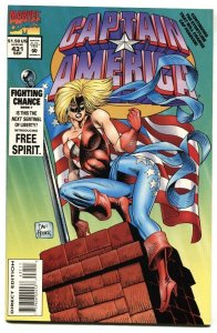 Captain America #431-1994 1st appearance of Free Spirit NM-