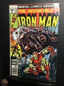 Iron Man #113 (1978) Appearance Unicorn!  High-grade key! NM-Wow!