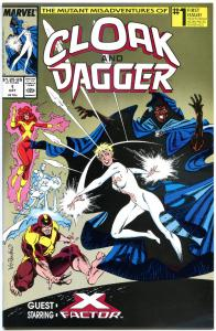 CLOAK and DAGGER #1 2 3 4 5, VF/NM, 1988,  5 issues, more Marvel in store
