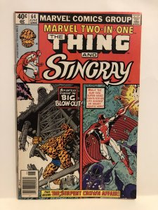 Marvel Two-in-One #64 (1980)