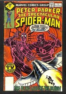 Spectacular Spider-Man #27 GD/VG 3.0 Marvel Comics Spiderman