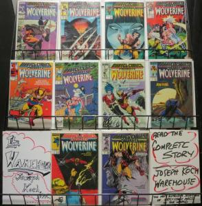 MARVEL COMICS PRESENTS 1-10 ANTHOLOGY;WOLVERINE STORY A
