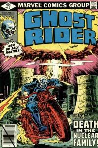 Ghost Rider (1973 series) #40, Fine+ (Stock photo)