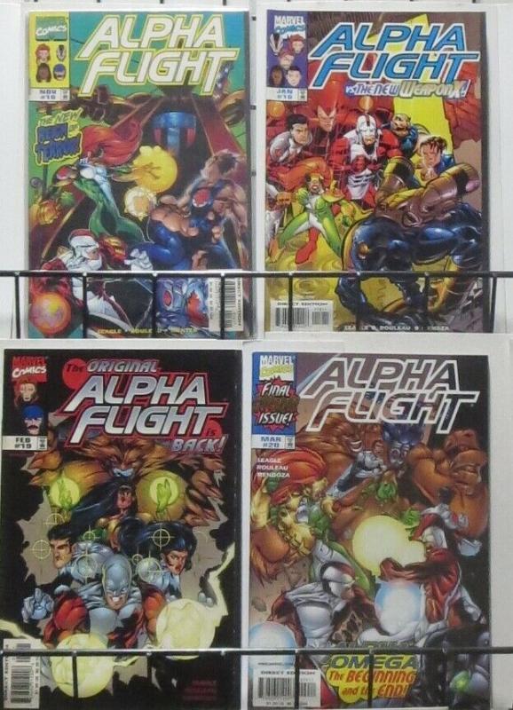 ALPHA FLIGHT VOLUME 2 SAMPLER! 20 ISSUES!, Marvel, 1997 Steven Seagle