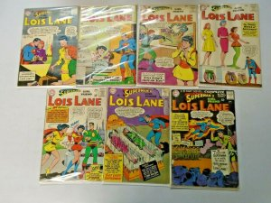 Silver Age Lois Lane Comic Lot 12¢ Covers From #41-85 13 Diff Avg 3.0 (1963-68)