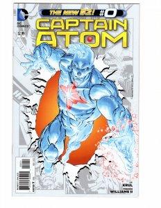 Captain Atom #0 (VF/NM) ID#MBX1