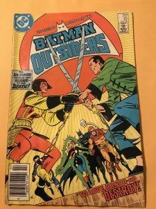 BATMAN and THE OUTSIDERS #12 : DC 7/84 Gd/VG filler; Katana origin part 2