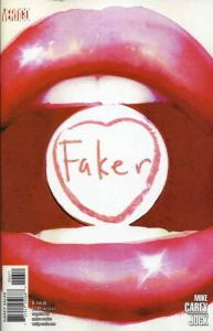 Faker #6 VF/NM; DC/Vertigo | save on shipping - details inside