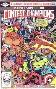 Marvel Super Hero Contest of Champions #1 (Jun-82) NM/NM- High-Grade Captain ...