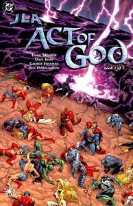 JLA: Act of God #1, NM + (Stock photo)