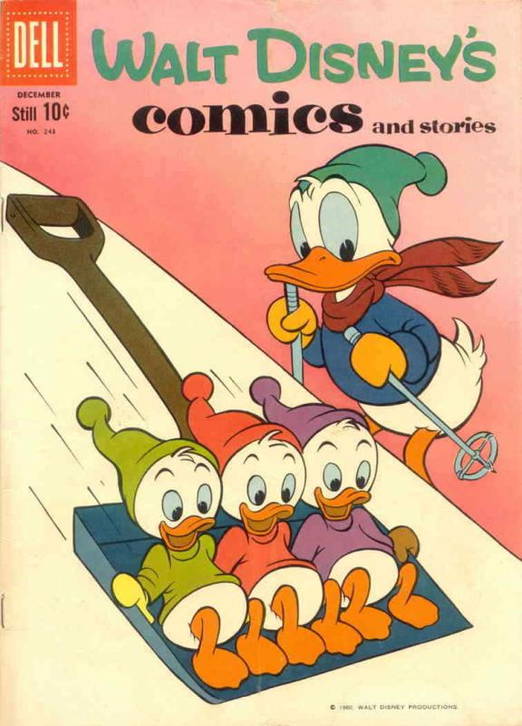 Walt Disney's Comics and Stories #243 VG; Dell | low grade comic - save on shipp