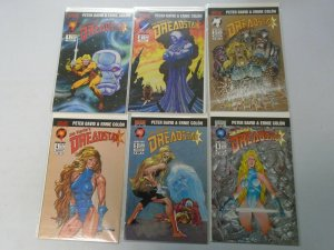 Dreadstar set #1-6 8.0 VF (1994 Malibu)