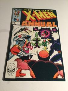 Uncanny X-Men Annual 7 Vf- Very Fine- 7.5 Marvel Comics