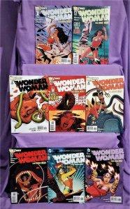 DC New 52 WONDER WOMAN #1 - 8 Brian Azzarello Cliff Chiang (DC, 2011)!
