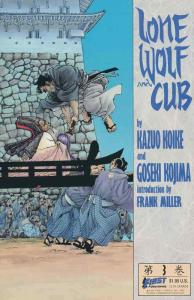 Lone Wolf and Cub #3 VF; First | save on shipping - details inside