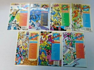 Who's Who Directory + Updates Comic Lot 28 Different Average 8.5 VF+ (1985-1988)