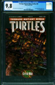 TEENAGE MUTANT NINJA TURTLES #50 CGC 9.8 -1992-2021122012