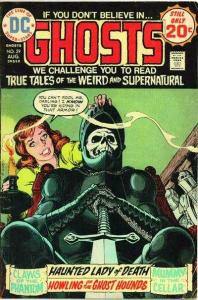 Ghosts (1971 series) #29, VF (Stock photo)